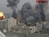 Air Strikes Launched Against Gaza Strip