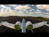 Airbus E-Fan Electric Airplane Flies At Farnborough