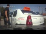 Auto Accident Bad Day For Taxi Driver