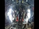 AirDrop From The Deck Of C-130 Hercules