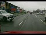 Auckland Rainy Day Dashcam Action