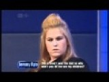 Are You Looking At Me? Sex Bomb On Jeremy Kyle