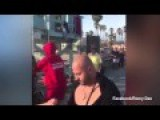Armenian Lifeguard Knocks Out Aggressor On Venice Beach Pier New Video Better Angle