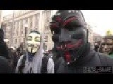 Anonymous Participates In DC Protest For Black Lives