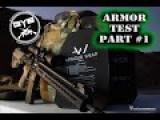Body Armor Testing: PART 1 Perforation Test --GY6vids