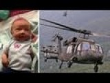 Baby Born In Helicopter On The Way To The Hospital
