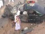 Brutal Collision Saudi Arabia