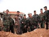 BREAKING : Gen. Ali Ayoub, Chief Of Staff, Visits Troops Operating In Ashaer Mountain * 16 10 2014 *