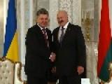 Belarus' Lukashenko To Meet With Ukraine's Poroshenko This Week