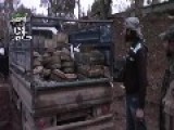 Brigade 82 Battle Spoils, Truck Full Of Ammonutions And Mine Tanks, BMP