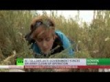 Bullets Flying Overhead: RT Crew Forced To The Ground In E. Ukraine