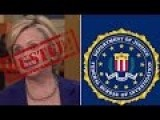 Bombshell: Crooked Hillary Clinton Clear Ties To FBI Investigation