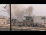 Bashar Assad - Terrorist In A Drum - Barrels Down On Kffersita Farms