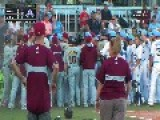 Bench Clearing Brawl From The Australian Baseball League HD