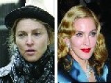 Before And After Makeup Madonna Shows Her Age