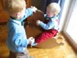 Big Brother Shows Little Brother Who's In Charge