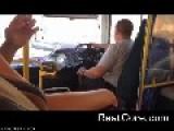 Bus Driver Looses Steering Wheel