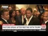 Black Pastor: 'The Liberal Media' Doesn't Know The Real Donald Trump