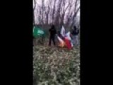 Bosnia: Islamists Seen Shooting And Burning Serbian Flags