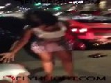 BLOODY RATCHET FIGHT = Outside A Classy Night Club =