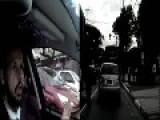 Brazil - Thug Hijacks A Car In Broad Daylight