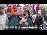 BRITAIN FIRST HOLDS DIGNIFIED PROTEST OUTSIDE OLD BAILEY