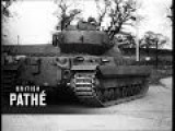 Britain's New Giant Tank 1954