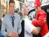 Blake Griffin Smacks Justin Bieber At Hollywood Starbucks