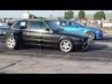 BMW E46 M3 VS Bmw E30 Drag Race