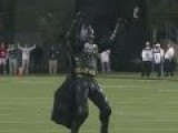 BATMAN BOOTS A 30-YARD FIELD GOAL