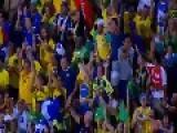Brazil Crushes Honduras 5 - 0 In International Football Match