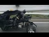 Batman And Super-motorcycle In Japan