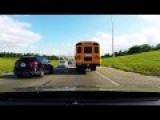 Bus Driver Gets Tired Of Dallas Traffic