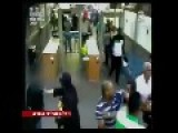 Big Brawl At Rambam Hospital Security Check