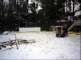 Backyard Ice Rink W Mini-Zamboni - Canada Of Course