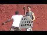 Black Lives Matter Vs All Lives Matter Supporters Social Experiment