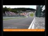 Belgium, Spa Francorchamps Race Track, Eau Rogue Flat Out, F1 2009
