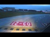 Beautifull Descent At Dawn To Lisbon Airport LPPT With Pilot's Point Of View