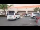 BIZARRE SHOPLIFTER TAKEOWN At HOME DEPO PARKING LOT