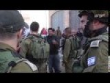 Brave Palestinian Man Giving IDF Soldiers A History Lesson