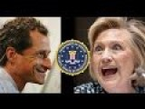 BREAKING: Hell For Hillary As FBI To Release Evidence On Child Sex Scandal From Weiner Laptop