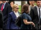 BREAKING: Deplorable Crooked Hillary Just Fainted, Lost Her Shoe During 9 11 Memorial Visit...thrown Into Van Headfirst Taken To Hospital