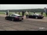 Bugatti Veyron Vs Porsche 911 Turbo Drag Race - DRAGINFO