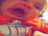 Baby Gets Emotional While Watching TV