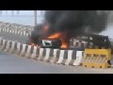 Brand New Audi R8 Got Fired Mumbai,India