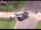 Brutal Crash Ends Police Chase