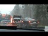 Brawl In Traffic Lett With A Baseball Bat