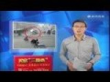 Bizarre Accident With Vehicles Lifted In To The Air By Unknown Force...Explanation