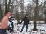 Brutal Russian Football Fans Fight