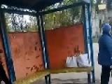 Bus Stop Face Plant